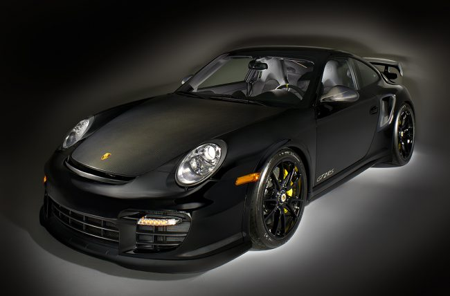 Product Photography in studio. Porsche 911 GT2RS.